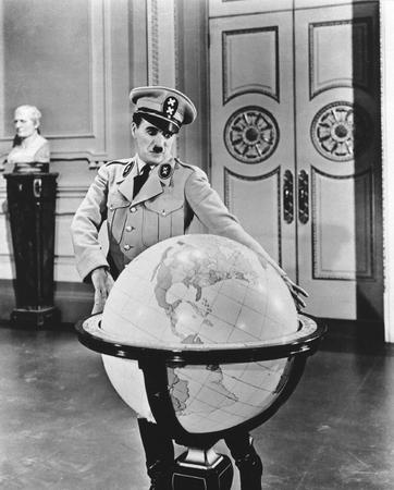 "Charlie Chaplin in ""The Dictator"""